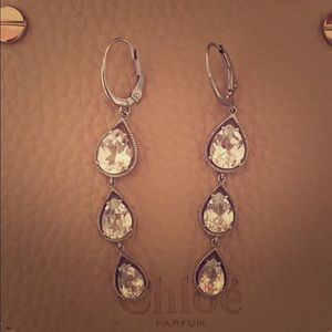 Lauren Taylor crystal earrings